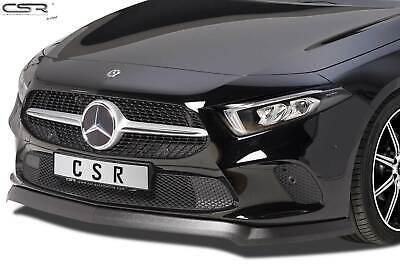 Frontspoiler Frontansatz Lippe mattschwarz für Mercedes A-Klasse W177