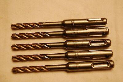 Dewalt Carbide Tip Sds Drill Bits 14 X 2 X 4-12 Qty Of 5