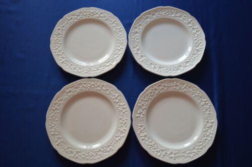 4 Indiana Glass Orange Blossom/Custard Dinner Plates