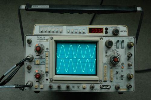 Tektronix 475 200MHz Oscilloscope Calibrated, Fully tested, SN: B270955