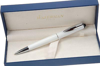 """Waterman Kugelschreiber """"REFLEX"""" in Farbe Weiss , inklusive WATERMAN-Box"""