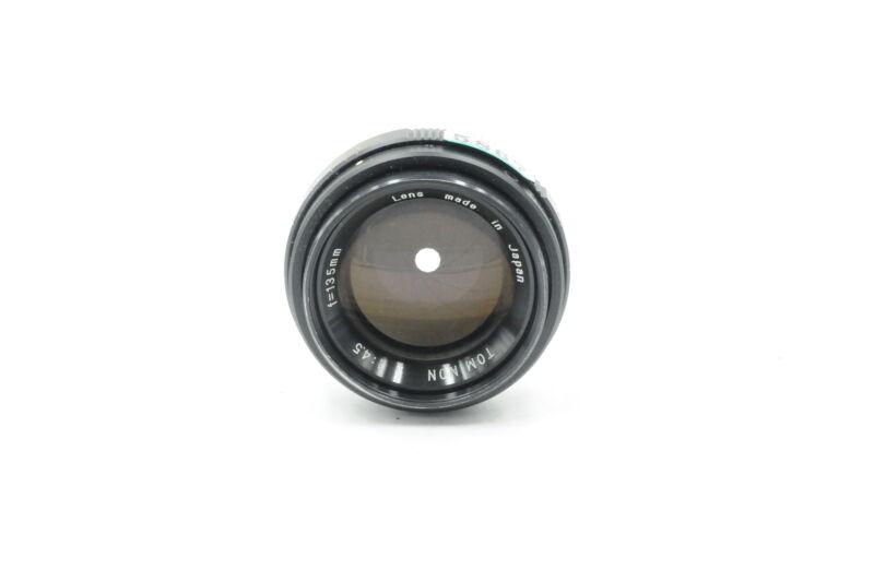 Tominon 135mm F4.5 Enlarging Lens 135/4.5 Enlarger #867
