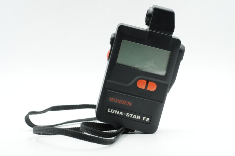 Gossen Luna Star F2 Flash/Ambient Light Meter #451