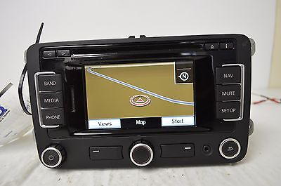 VW VOLKSWAGEN RNS-315 Navigation GPS AM FM SAT Radio Stereo AUX CD I12#001