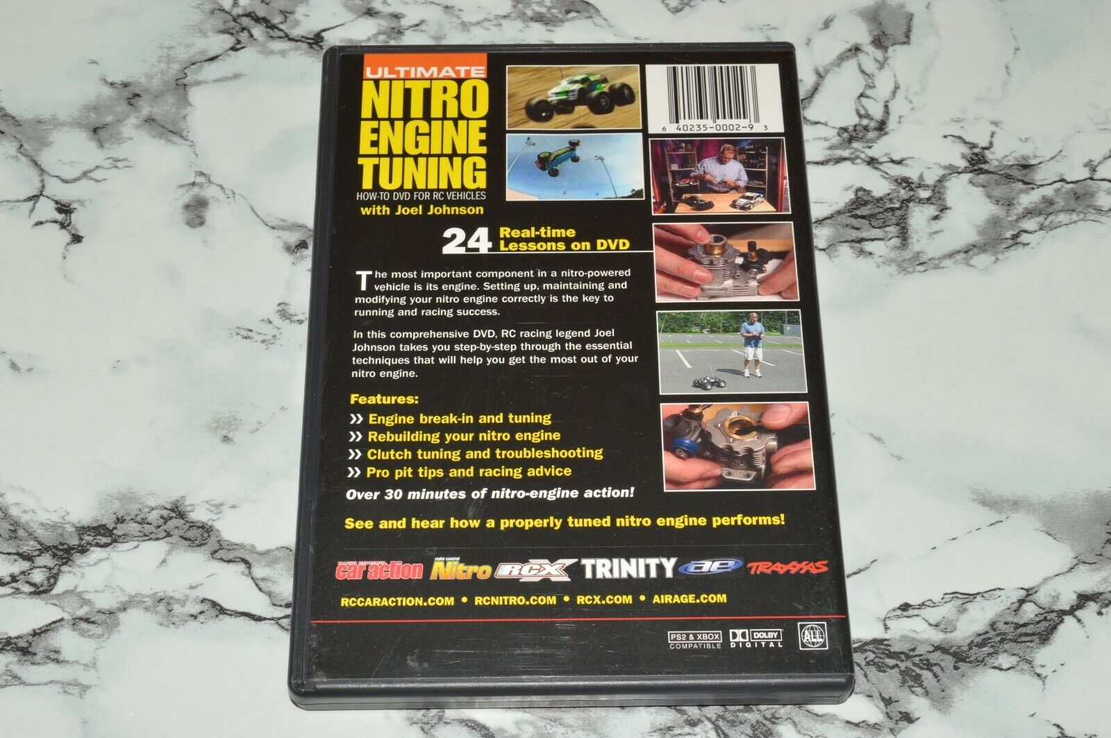 Ultimate Nitro Engine Tuning How-To DVD For RC Vehicles DVD -- Joel Johnson - $12.68
