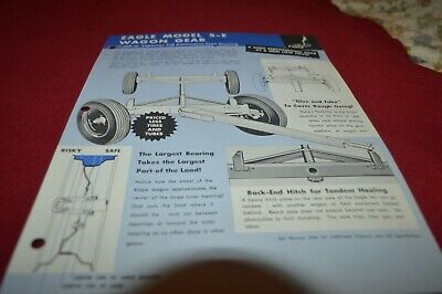 Cobey 5E Wagon Running Gear Dealer's Brochure AMIL15 ver2 for sale  Shipping to Canada