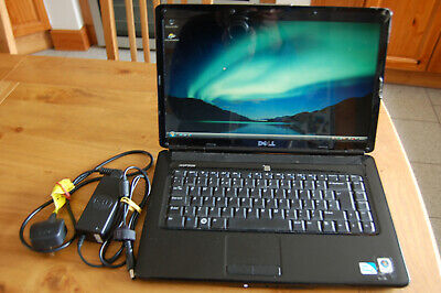 Dell Inspiron 1545 Laptop with Charger & Case - Works BUT Needs Drivers Software