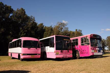 Pink Party Bus Sydney - The Only PINK Party Bus Hire In Sydney