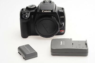 Canon EOS Rebel XTi 10.1MP Digital SLR Camera Body 400D Black               #012