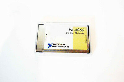 National Instruments Daqcard-4050 Multimeter Card Pcmcia Ni Dmm Daq