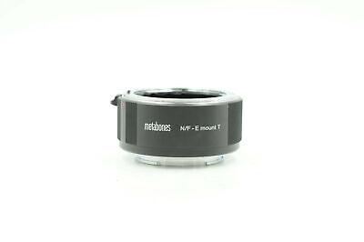 Metabones Nikon F Lens to Sony E-Mount Camera T Adapter II                  #589