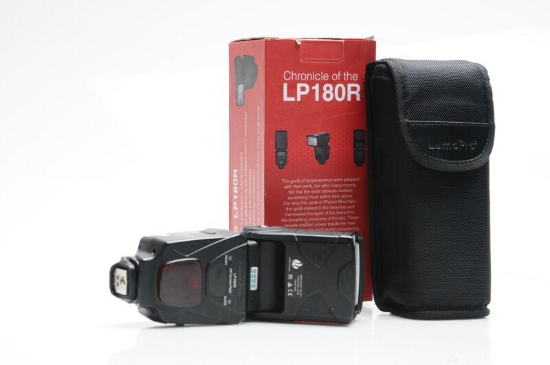LumoPro LP180R Off Camera Flash #223