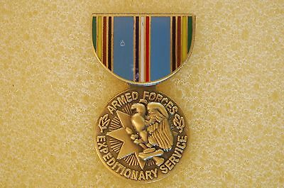 US USA Armed Forces Expeditionary Service Medal Military Hat Lapel Pin