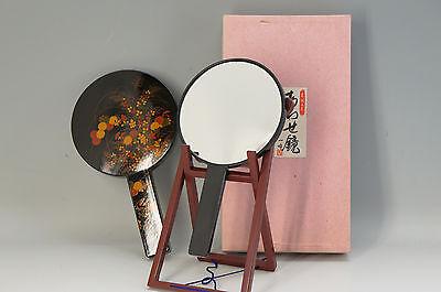 Coupled Mirrors w/stand YAKUMO AKIKUSA KIMONO Girls W/box Free Ship 677f09