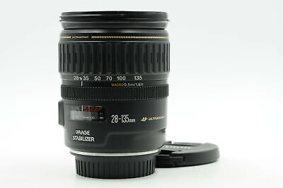 Canon EF 28-135mm f3.5-5.6 IS USM Macro Lens                                #858