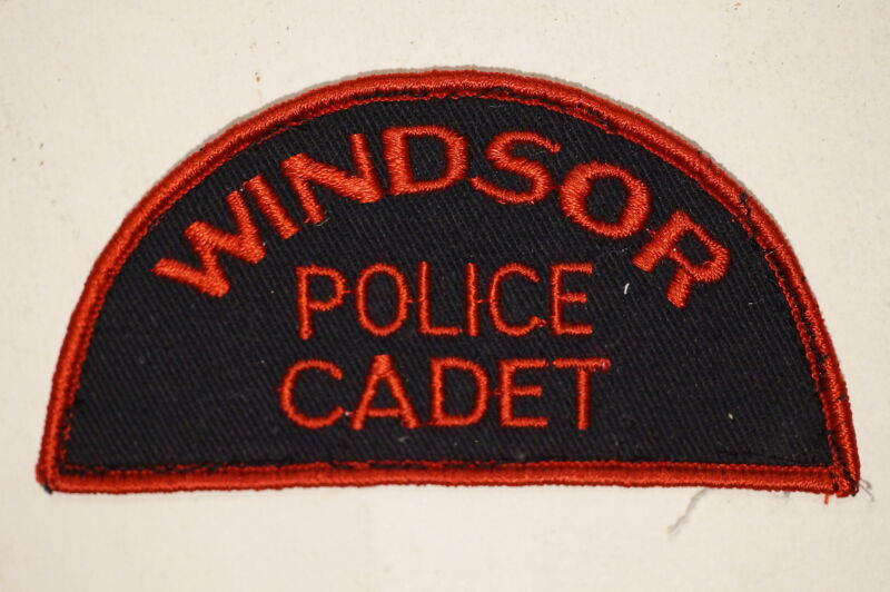 Canadian Ontario Windsor Police Cadet Patch