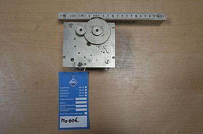 MO006 - Uhrwerk für Messuhren aus Kraftwerk - Profis-Sammler-Bastler