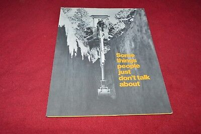 John Deere 310 410 500-C 510 Backhoe Dealer's Mailer Brochure RPMD