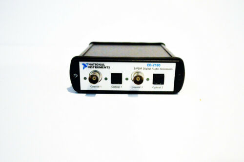 National Instruments NI CB-2180 Digital Audio Accessory