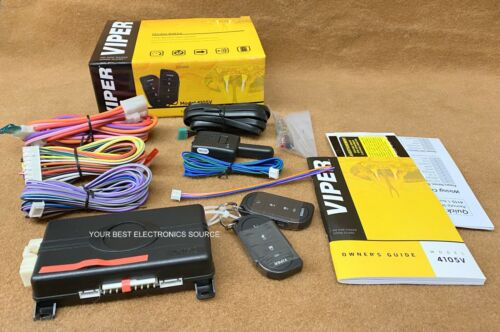 NEW Viper 4105V Remote Start System with Two 4-Button Controls