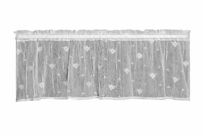 Heritage Lace BEE Valance 45x15 ECRU Made in USA