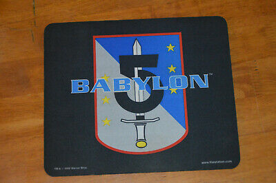 Vintage 1998 Babylon 5 Army of Light Mouse Pad