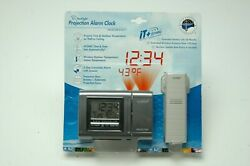 La Crosse Technology Projection Alarm Clock - Atomic Precision WT-5210 NEW