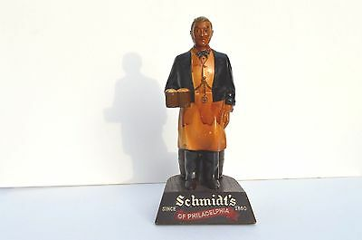 (Schmidts Beer Bar Straw/Glass Holder Advertising Pub Philadelphia Ale Original )