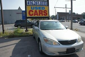 2002 Toyota Camry XLE | LEATHER | SUNROOF | AC |