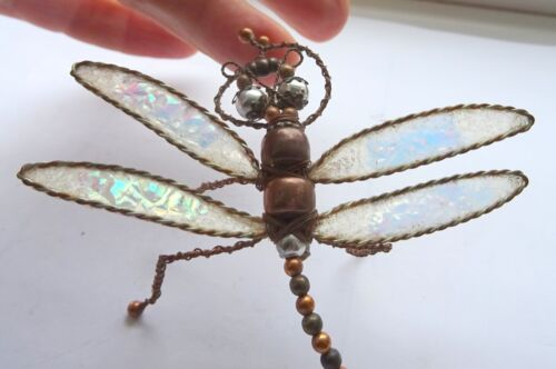 Edwardian Folk Art Dragonfly Brooch
