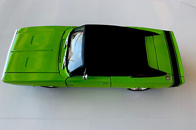1970 Dodge Charger R/T, 1:24 Scale Diecast, Collectible,, Jada Toy, GREEN 97594