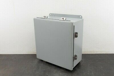 Hoffman Electrical Enclosure A1212chnf 12x12x6 Box Control Type 4 12 13