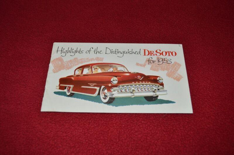 De Soto For 1953 Cars Car Dealer