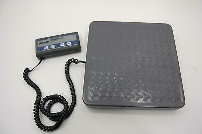 Pelouze 4010 Digital Utility Shipping Floor Platform Scale 150lb Healthometer