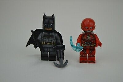 LEGO DC Comics The Flash & Batman Minifigures Authentic LEGO 76086