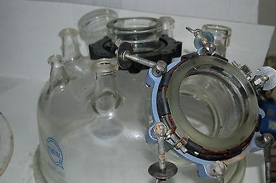 Pilot-tec Duran Glass Pilot Reactor Cover Lid Top Large 9-neck Dn400 Flange Rf