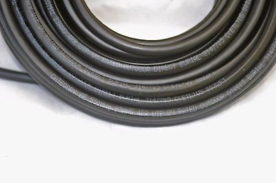 125FT Cat6'e Outdoor Direct Burial Cable cord waterproof Ethernet network Inwall (Direct Burial Ethernet Cable)