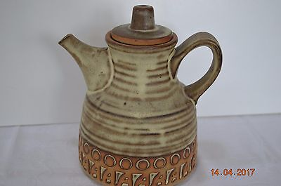 Cornish Tremar Studio Pottery Tea Pot - Celtic DESIGN  - Excellent Condition