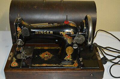 Set of 3 Vintage Sewing Machine brass nameplate label