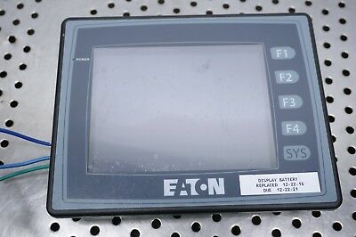 Eaton Cutler Hammer Hmi06ce Hmi06ce02 Operator Interface Screen Plc