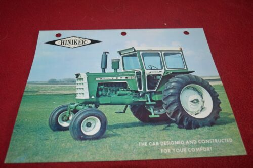 Oliver Tractor Hiniker Cab For Tractor Brochure TBPA