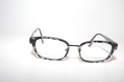 feb80ad72f71 R by Sama Megan Eyeglasses Titanium P 50  17-140 Onyx Tort More pictures.  eBay