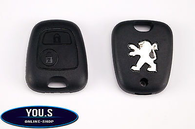 Peugeot 307 Spare 2 Buttons Remote control Key Casing Cover - NEW