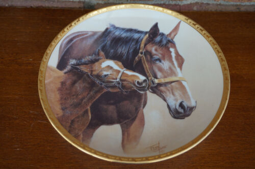 "PLATE American Artists Patience Fred Stone 1991 Horse Pony Colt 6.5"" #15329 USA"