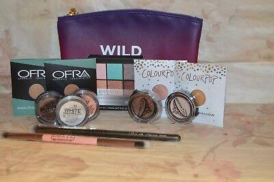 2 Luxie Brushes & 9 Ipsy Eye Shadow Items~ Eye Palette~