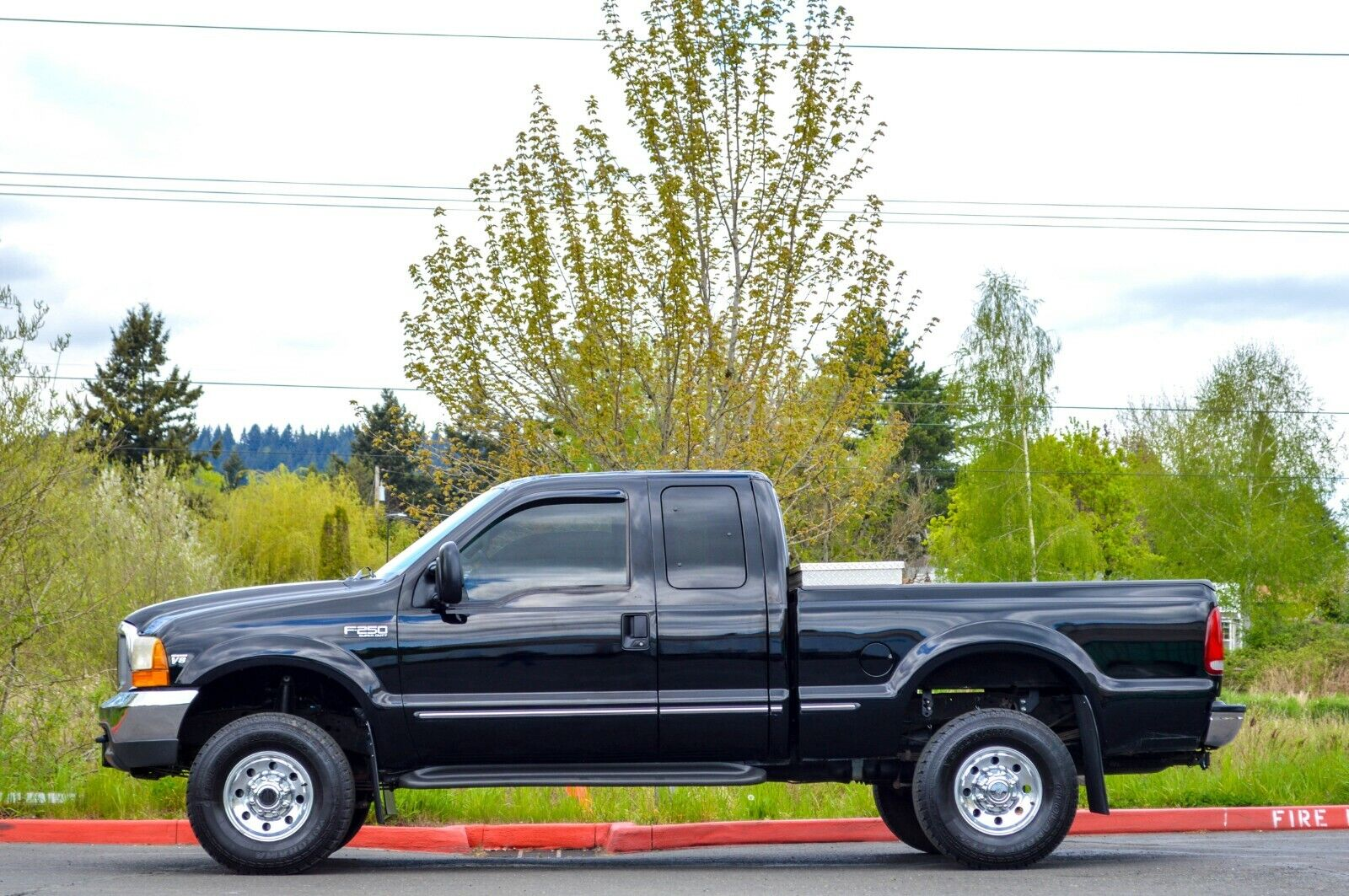 1999 FORD F250 SUPER CAB 4X4 7.3L POWERSTROKE TURBO DIESEL ONLY 84K MILES!!!