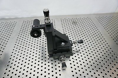 Thorlabs Xyz Stage W Lens Tube 3 Axis Micrometer 3 X 4 Stage