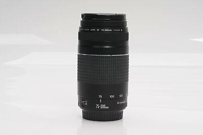 Canon EF 75-300mm f4-5.6 III Lens 75-300/4-5.6                              #174