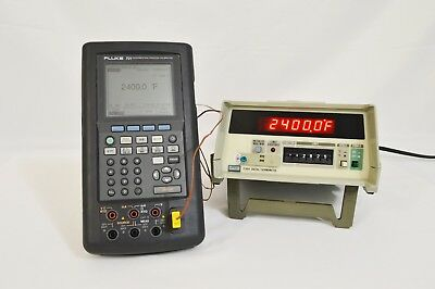 Fluke 2190a Reference Digital Thermometer With Options 002 004 006 Calibrated