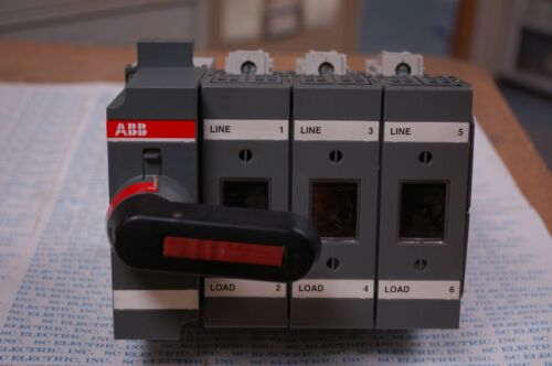 ABB OS60GJ03 GENERAL PURPOSE SWITCH 600VAC 60A